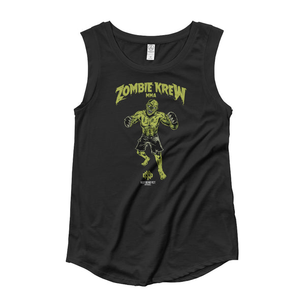 ZOMBIE KREW MMA Ladies' Cap Sleeve T-Shirt - Not Dead Yet Apparel