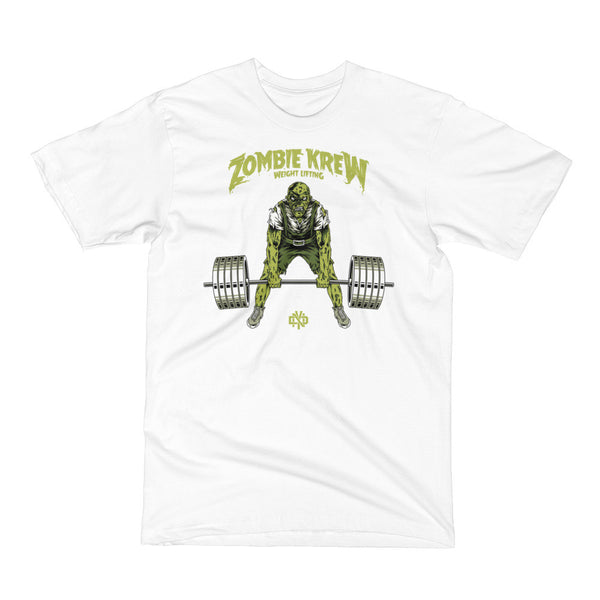 ZOMBIE KREW WEIGHTLIFTING - Not Dead Yet Apparel