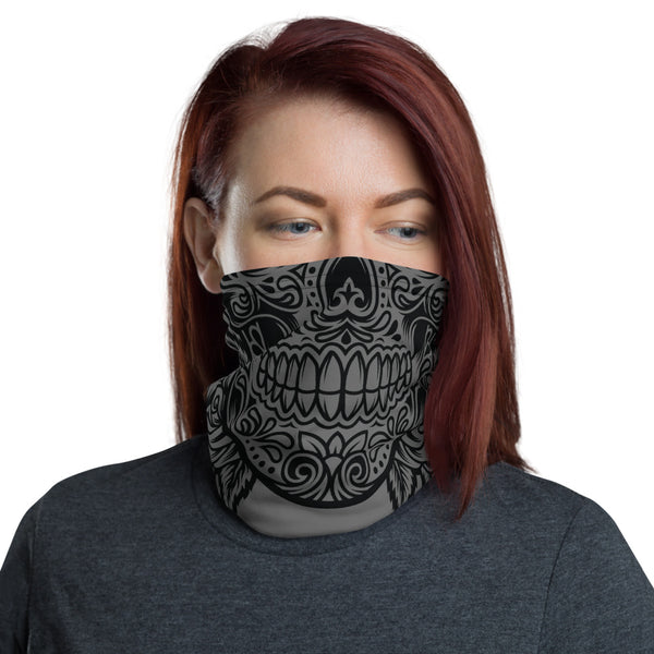 Sugar Skull Neck Gaiter