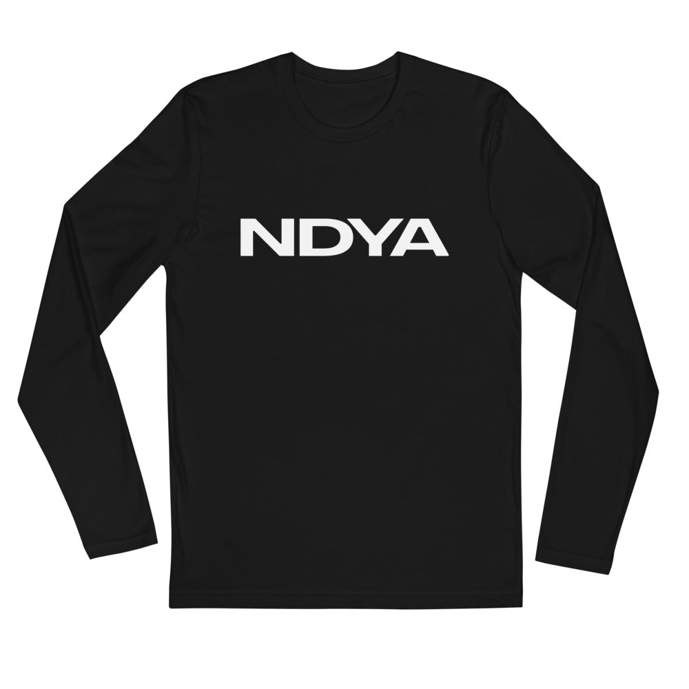 NDYA Long Sleeve Fitted Crew