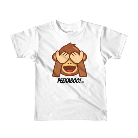 PEEKABOO! Short sleeve kids t-shirt - Not Dead Yet Apparel