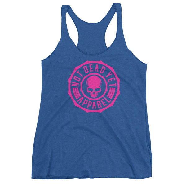 LOGO BREAST CANCER AWARENESS Women's tank top - Not Dead Yet Apparel