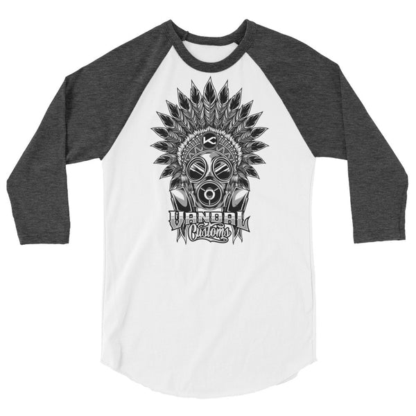 VANDAL CUSTOMS Unisex Raglan - Not Dead Yet Apparel