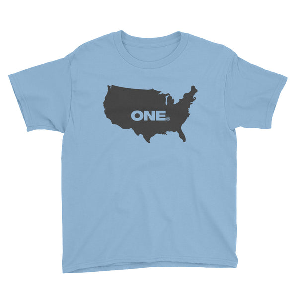 ONE (America) - Youth Short Sleeve T-Shirt - Not Dead Yet Apparel