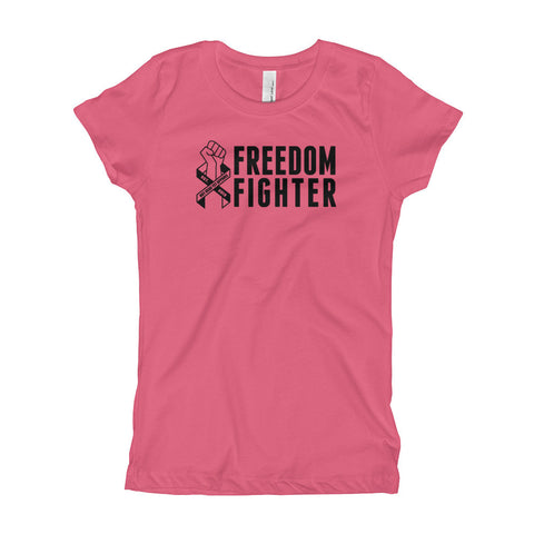 FREEDOM FIGHTER Girl's T-Shirt - Not Dead Yet Apparel