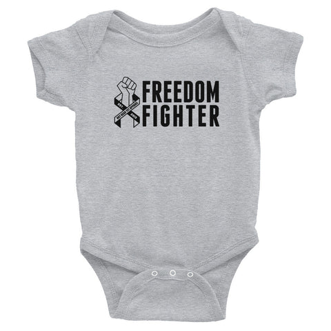 FREEDOM FIGHTER Infant Onesie - Not Dead Yet Apparel