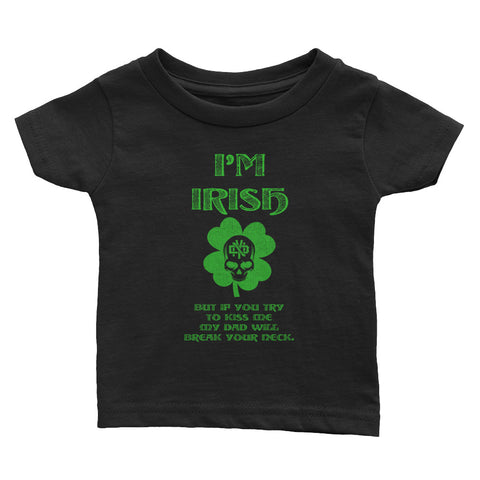 DON'T MESS WITH DADDY Infant Tee - Not Dead Yet Apparel