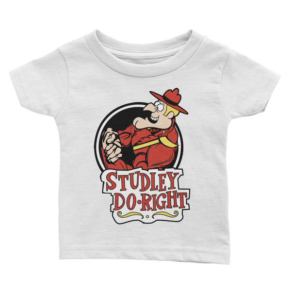Studley Do- Right Infant Tee - Not Dead Yet Apparel