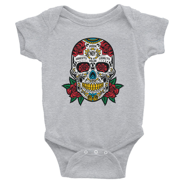 SUGARSKULL Infant Onesie - Not Dead Yet Apparel
