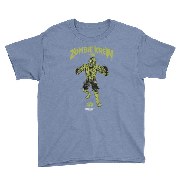 ZOMBIE KREW MMA Youth Short Sleeve T-Shirt - Not Dead Yet Apparel