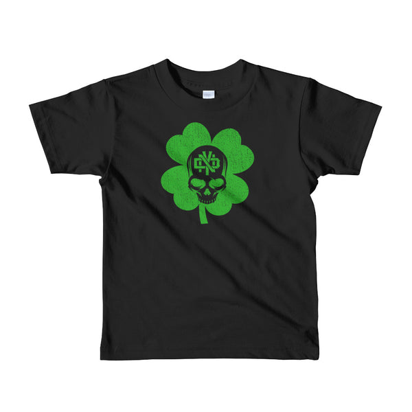 LUCKY SKULL Short sleeve kids t-shirt - Not Dead Yet Apparel