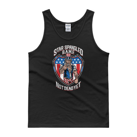 Star Spangled BAMFTank top - Not Dead Yet Apparel