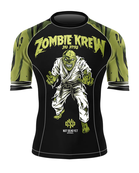 ZOMBIE KREW BJJ RASH GUARD