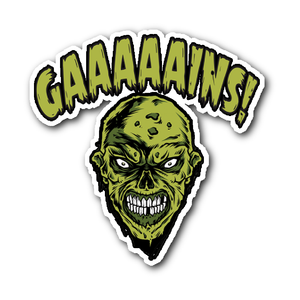 GAAAINS! STICKER - Not Dead Yet Apparel