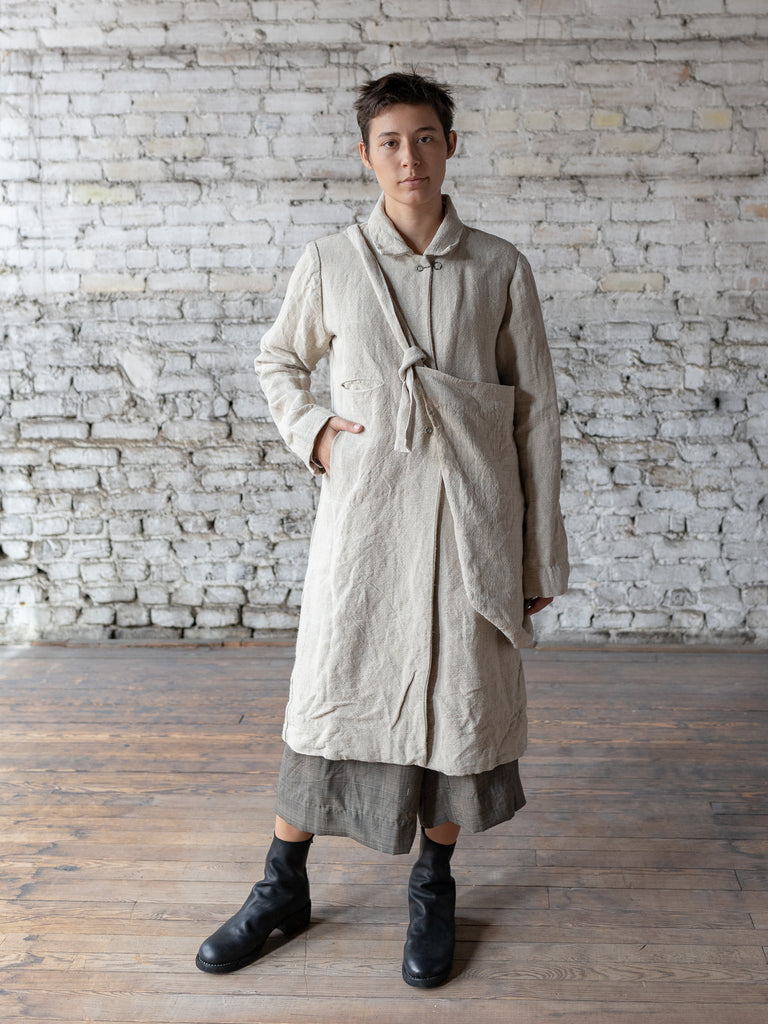 atelier suppan hemp coat