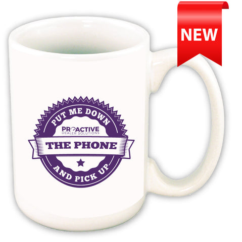 'Put Me Down & Pick Up the Phone' Mug