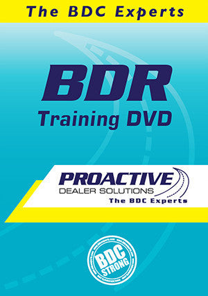 BDR Training DVD