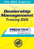 Dealership Management Training DVD