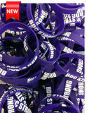 BDC Strong Purple Wristband