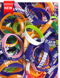 BDC Strong Wristband Variety Pack - 10