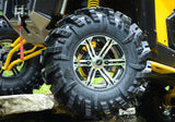 Super ATV Intimidator Tire Side View With Wheel