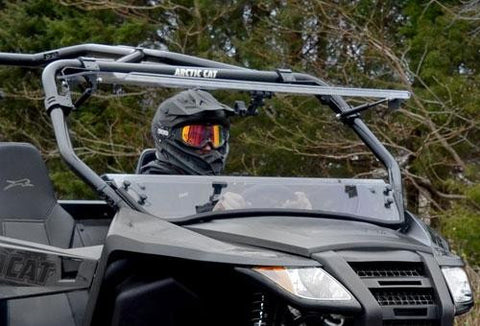 Arctic Cat Wildcat Trail Scratch Resistant Flip Windshield