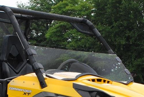 Can-Am Commander Half Windshield