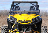 Can-Am Commander Scratch Resistant Flip Windshield : FWS-CA-COM-CAN-AM-COMMANDER-FLIP-WINDSHIELD1-4