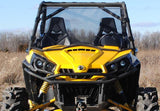 Can-Am Commander Scratch Resistant Full Windshield : WS-CA-COM-CAN-AM-COMMANDER-FULL-WINDSHIELD1-3