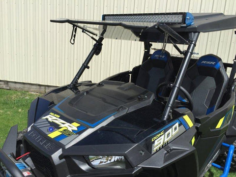 D.O.T. Approved Flip Up Windshield by EMP - RZR XP 1000 / XP Turbo / S 1000 / 900 / S 900