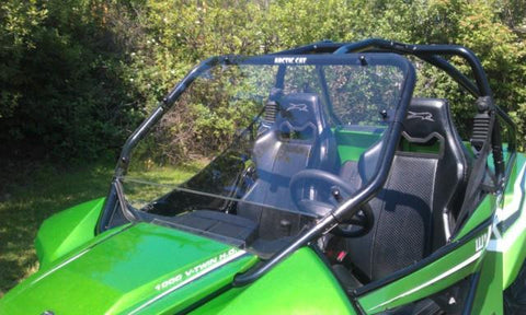 D.O.T. Approved Hard Coated Full Windshield by EMP - Arctic Cat Wildcat 1000 / X / 4X