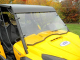 D.O.T. Approved Hard Coated Full Windshield - Can Am Commander-5