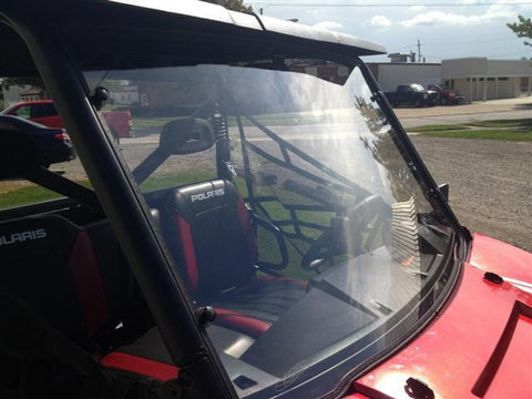 EMP D.O.T. Rated Hard Coated Full Windshield w/ Optional Wiper - Full Size Ranger 570/570 Crew and XP 900/900 Crew-2