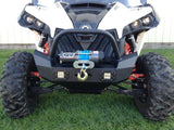 EMP Front Bumper w/ Winch Mount and LED Lights - Can Am Maverick-3