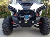 EMP Front Bumper w/ Winch Mount and LED Lights - Can Am Maverick-4
