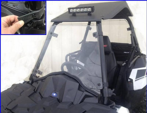 EMP Full Hard Coated Windshield - Polaris ACE