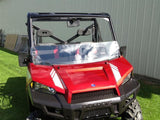 EMP Half Windshield w/ Fast Straps - Full Size Ranger 570/570 Crew and XP 900/900 Crew-2