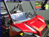 EMP Half Windshield w/ Fast Straps - Full Size Ranger 570/570 Crew and XP 900/900 Crew