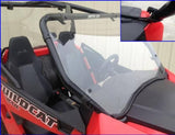 EMP Hard Coated Full Windshield w/ optional wiper - Arctic Cat Wildcat Trail / Sport
