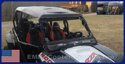 EMP Polyethylene Hard Top - Polaris RZR 4 800/XP 4 900