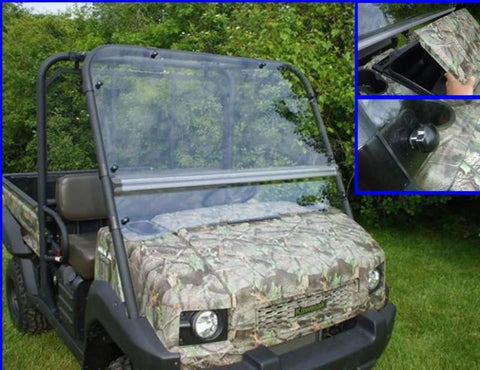 Flip Up Windshield - Kawasaki Mule 4010