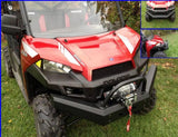 Front Bumper Brush Guard w/ Winch Mount - Full Size Ranger 570/570 Crew and XP 900/900 Crew