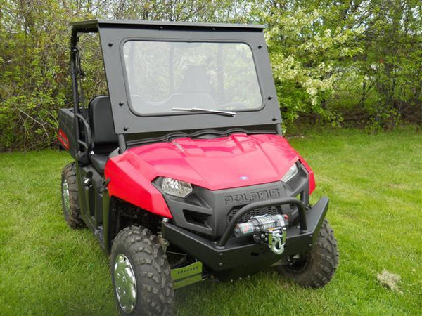 Emp Front Bumper With Winch Mount Polaris Mid Size