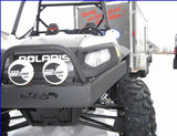 Front Bumper with top mounted winch plate - RZR 570/800/S 800-4