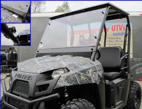 Full Windshield - 2010-14 Mid Size Ranger 400/500/570/EV/800 and 500/570 Crew