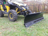 "Heavy Duty 72"" Snow Plow System by EMP - Can Am Maverick-4"