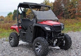 Honda Pioneer 500 Scratch Resistant Full Windshield : WS-H-PIO500-HONDA-PIONEER-500-WINDSHIELD-2