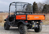 Kubota RTV X-900 / X-1120D Scratch Resistant Rear Windshield : RWS-KU-RTV-X-KUBOTA-REAR-WINDSHIELD-2