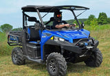 Polaris Ranger 570/900 Scratch Resistant Flip Windshield : FWS-P-RAN900-POLARIS-RANGER-900-FLIP-WINDSHIELD-1