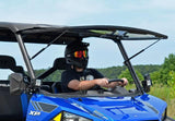 Polaris Ranger 570/900 Scratch Resistant Flip Windshield : FWS-P-RAN900-POLARIS-RANGER-900-FLIP-WINDSHIELD-2